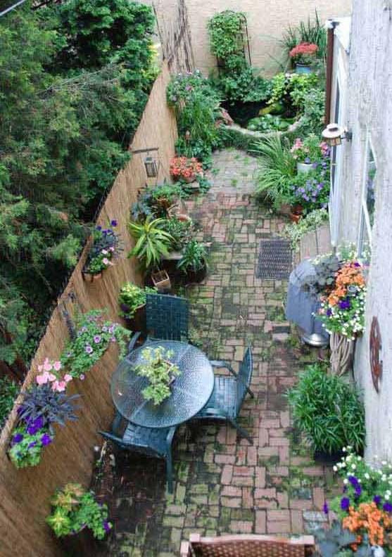 Kleiner Garten Als Wohnraum: Kleiner Garten Gestalten Als Kleines Wohnzimmer Draußen
