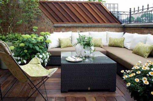 Gestaltung Dachterrasse kleines wohnzimmer inspirationen als dachterrasse gestaltung mit