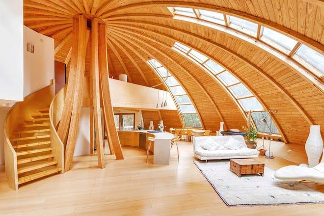 Luxus Wohnzimmer Holz Inspiration Mit Innentreppe Holz Und