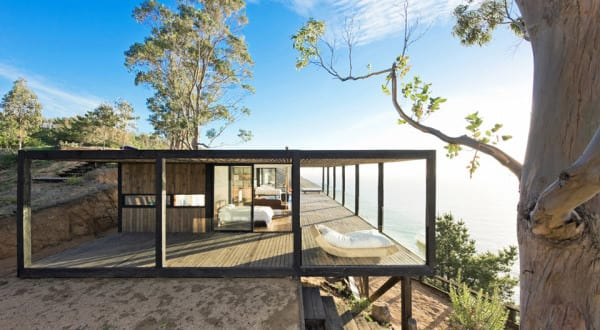 ein umweltfreundliches Traumhaus am Meer