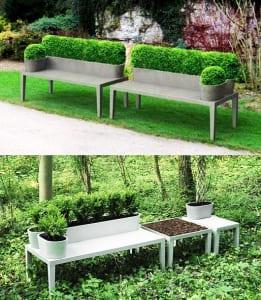 moderne-Gartenbank-aus-Beton