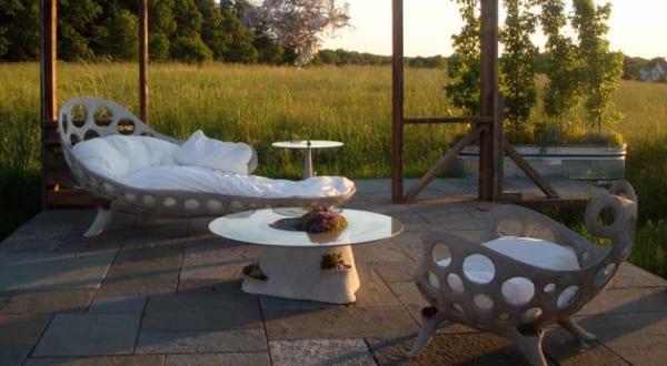 Beton Im Garten Eine Moderne Gartengestaltung Freshouse