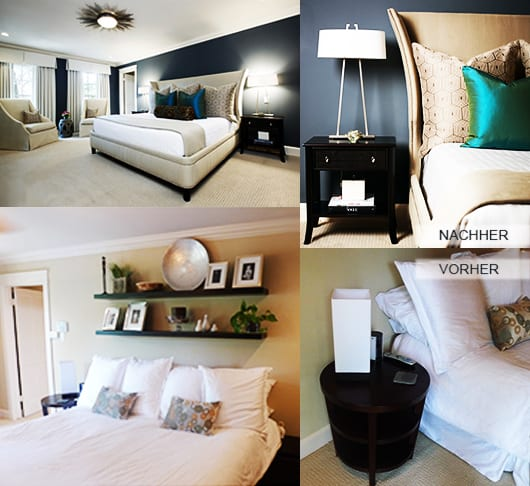 schlafzimmer renovieren und mit wandfarbe blau streichen freshouse. Black Bedroom Furniture Sets. Home Design Ideas