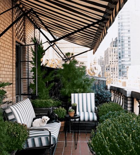 Moderne Kinder Schlafzimmer Finde Designs Und Ideen: Terrasse Gestalten Mit Pflanzen Und Sofa Als Kleines