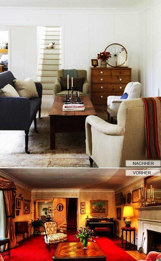 Zimmer Renovieren_luxus Wohnzimmer Mit Rotem Teppich In Weiß