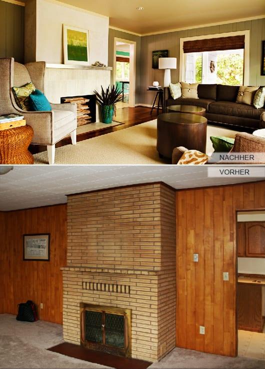 zimmer-renoviren_Holzverkleidung-streichen-idee - fresHouse