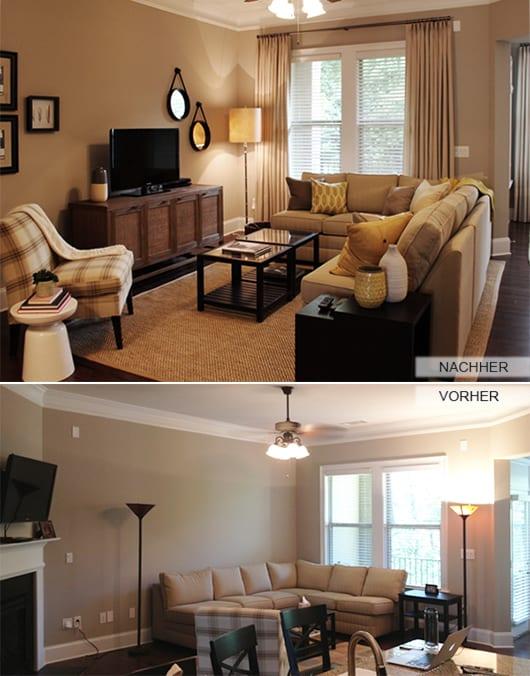 Zimmergestaltung Ideen Vorher Und Nachher Freshouse