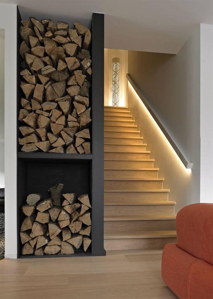 Wohnideen Lichtgestaltung indirekte led beleuchtung als lichtgestaltung treppe via glorieux