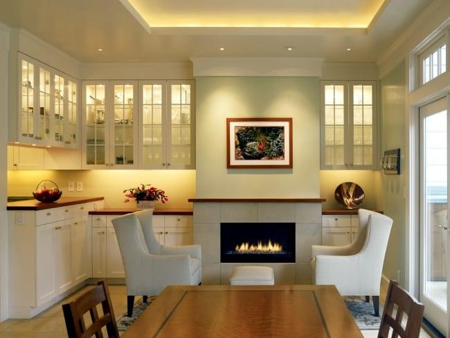 indirekte beleuchtung küche weiß - fresHouse