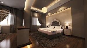 inspiration für indirekte deckenbeleuchtung schlafzimmer