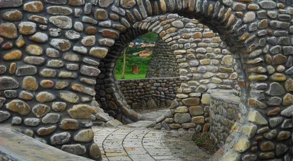 Gartenmauer als Gestaltungselement