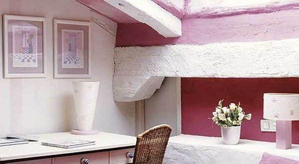 kleines schlafzimmer ideen für gemütliches schlafzimmer dachschräge im pink