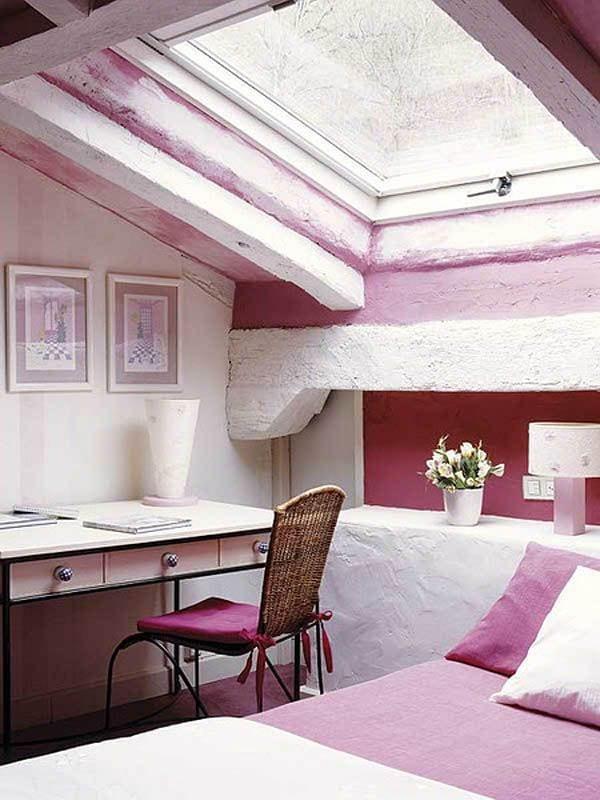 kleines schlafzimmer ideen für gemütliches schlafzimmer dachschräge ...