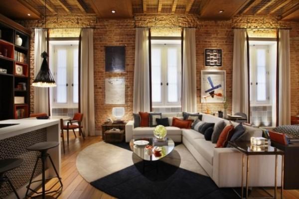 Kreative Lichtgestaltung Im Wohnzimmer Mit Indirekter Beleuchtung Am