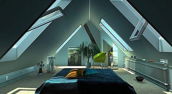 Schlafzimmer inspiration dachschräge  luxus schlafzimmer inspiration für gemütliches schlafzimmer ...