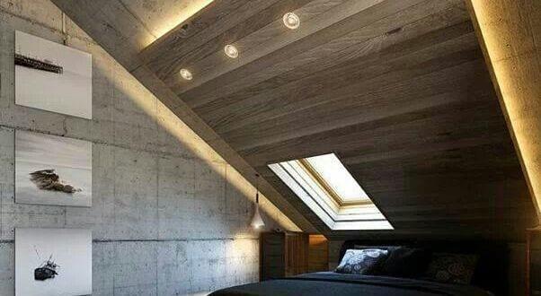 Moderne Schlafzimmer Einrichtung Und Lichtgestaltung Mit Indirekter Boden U2013  Und Deckenbeleuchtung