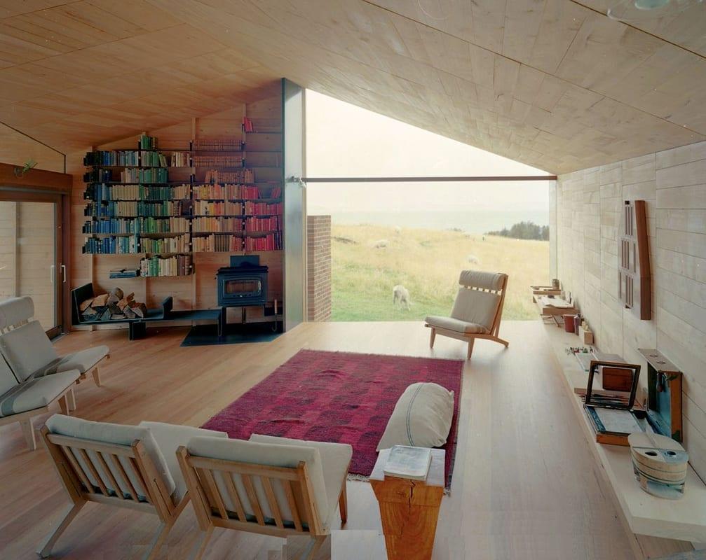 modernes interior design in holz f r moderne wohnzimmereinrichtung und farbgestaltug freshouse. Black Bedroom Furniture Sets. Home Design Ideas