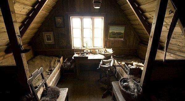 schlafzimmer dachschräge rustikal und gemütlich gestalten - fresHouse