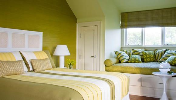schlafzimmer ideen f r gem tliches schlafzimmer gr n. Black Bedroom Furniture Sets. Home Design Ideas