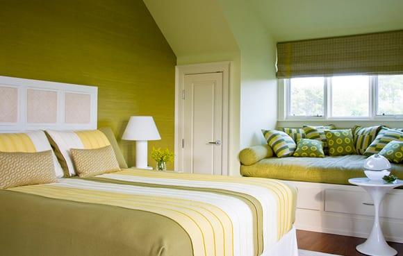 schlafzimmer ideen für gemütliches schlafzimmer grün - fresHouse