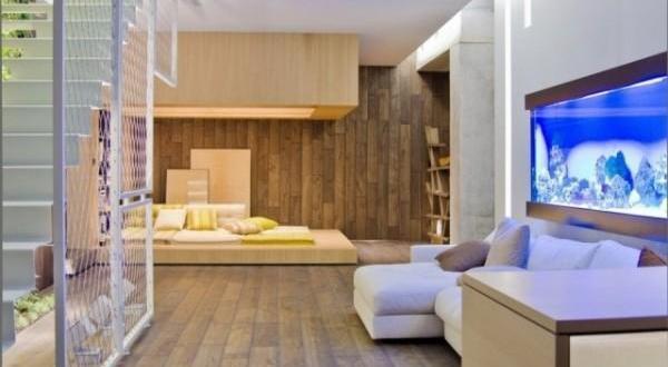 Wohnzimmer Inspirationen Mit Indirekter Deckenbeleuchtung Als Wand  Und  Deckengestaltung