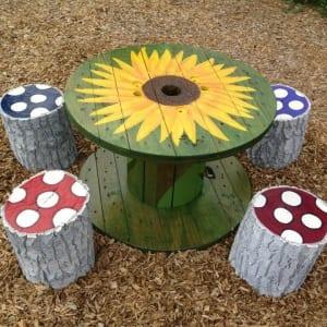 DIY Gartenmöbel aus Holz