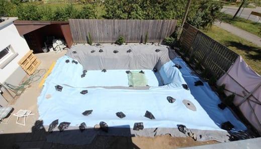 DIY Gartenpool und Schwimmteiche im Garten