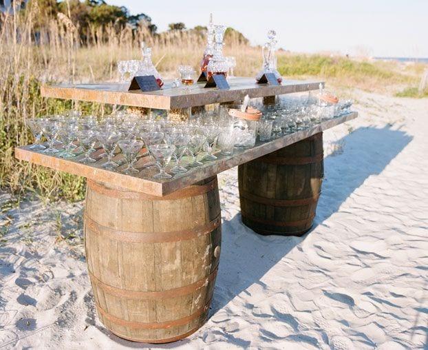 Sideboard Bar Wedding