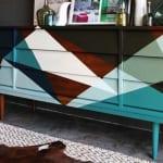 coole möbel streichen ideen für Sideboard holz