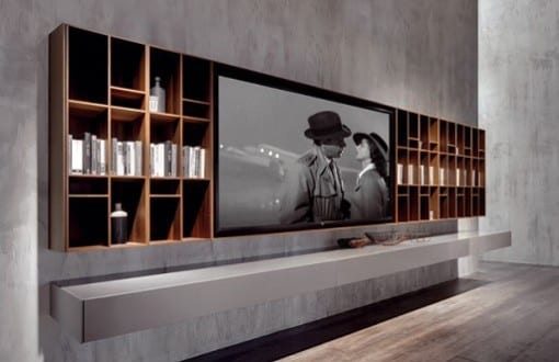 33 moderne TV-Wandpaneel-Designs und Modelle