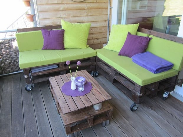 Terrassenmöbel Aus Europaletten terrasseneinrichtung mit terrassenmöbel aus europaletten - freshouse