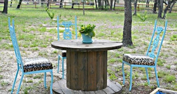 Coole Gartenmöbel coole gartenmöbel inspiration mit diy gartentisch rund aus