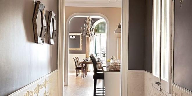 coole wohnidee und moderne flurgestaltung in wei und grau freshouse. Black Bedroom Furniture Sets. Home Design Ideas