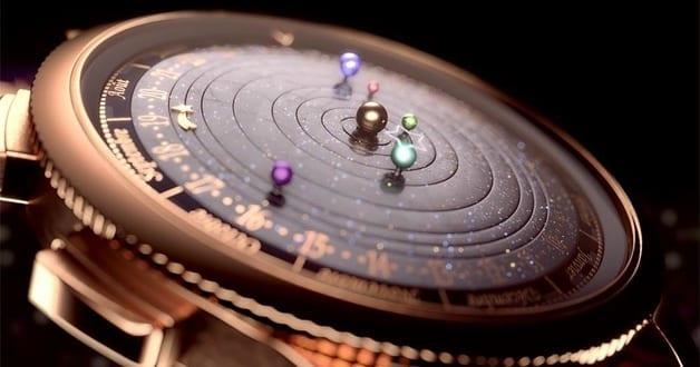 geschenkidee für männer_handuhr mit dem planetenstand