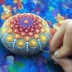 kreative bastelidee zum basteln mit naturmaterialien und als coole DIY Dekoration