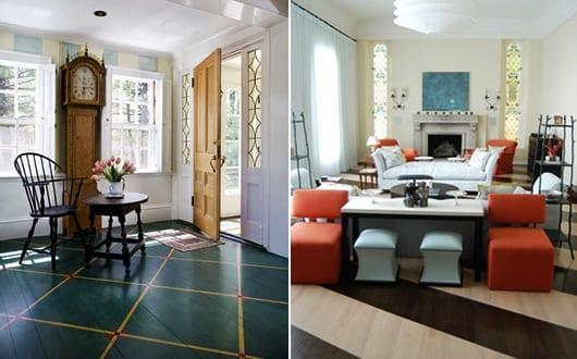 kreative-streichen-ideen-für-Holzboden
