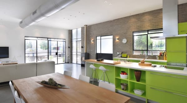 20 interessante Küchenideen in Weiß und Grün