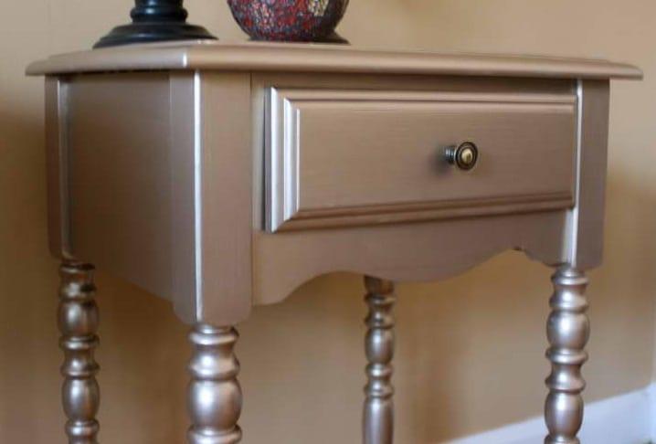 Möbel Streichen Idee In Silber - Freshouse