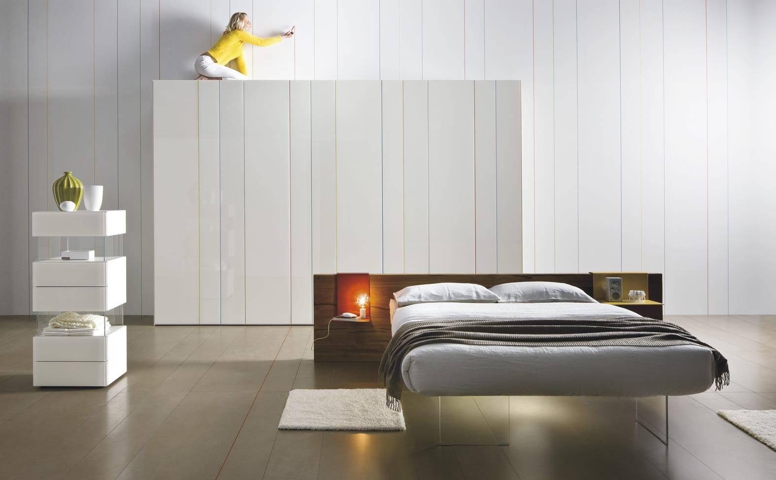 minimalistische schlafzimmer einrichtungsideen mit modernem ...