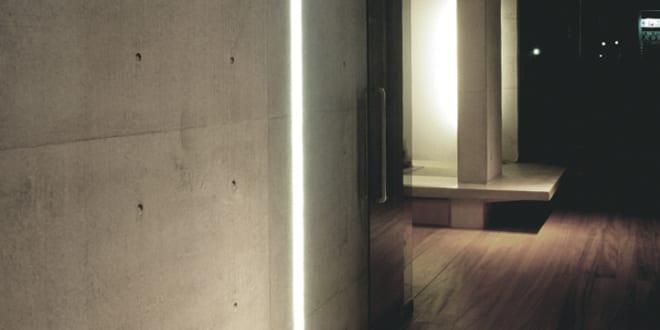 moderne Flurgestaltung zum minimalistish wohnen_rojkind arquitectos