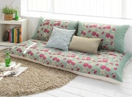 Bodenkissen sofa  moderne Raumgestaltung mit Bodenkissen-Sofa - fresHouse