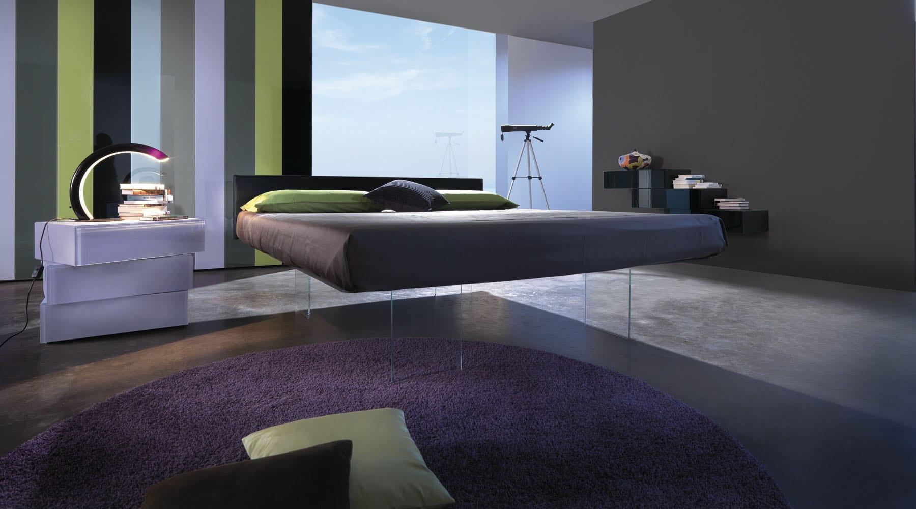 Moderne Einrichtungsideen Für Minimalistische Schlafzimmer In Lila