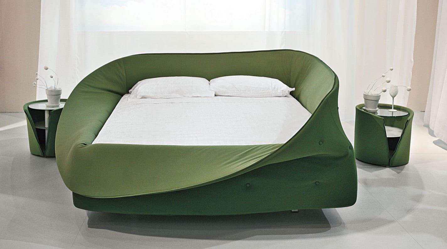 Modernes schlafzimmer grün  moderne einrichtungsideen für minimalistische schlafzimmer mit ...