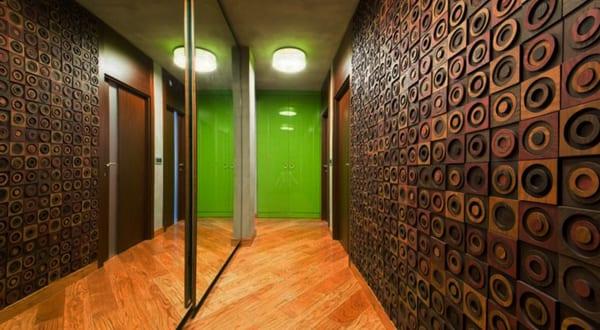 moderne-flur-gestaltung-und-wohnidee-flur-mit-Wandpaneelen_cooles-interieur-von-M2-Design-Studio