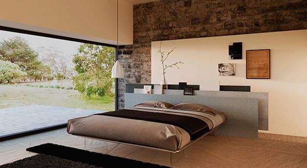 Einrichtungsideen für minimalistische Schlafzimmer