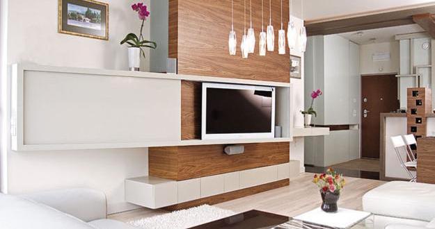 Fantastisch Moderne Tv Wandpaneele In Weiß Und Holz Für Luxus Zimmereinrichtung Und  Moderne Wandgestaltung