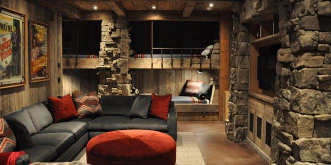 moderne wohnidee f r wohnzimmer und keller freshouse. Black Bedroom Furniture Sets. Home Design Ideas