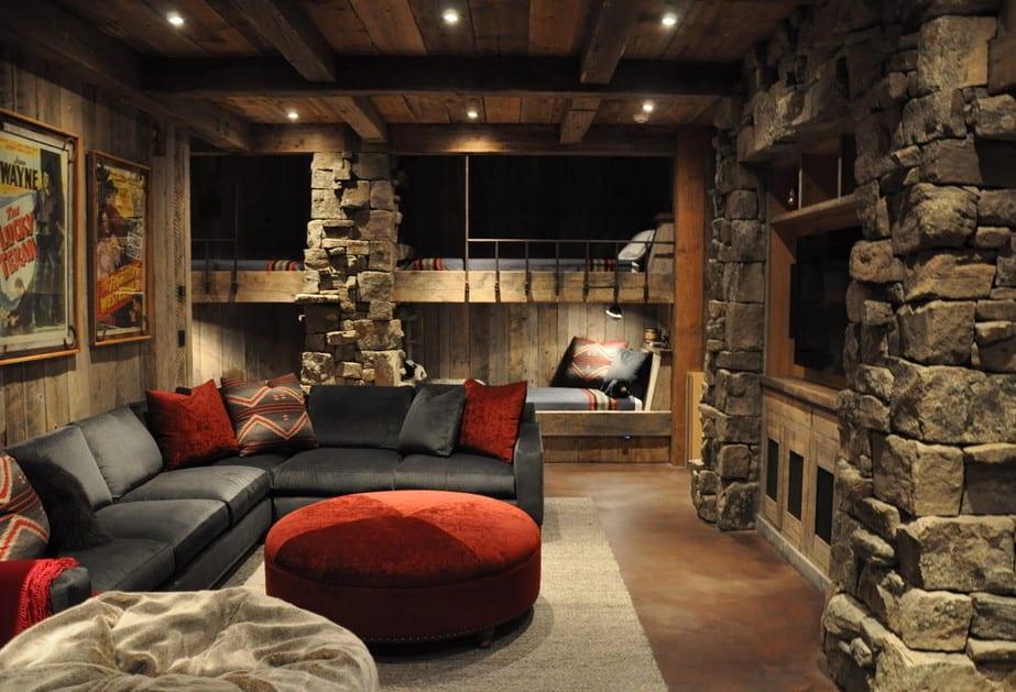 Moderne Wohnidee Für Wohnzimmer Und Keller