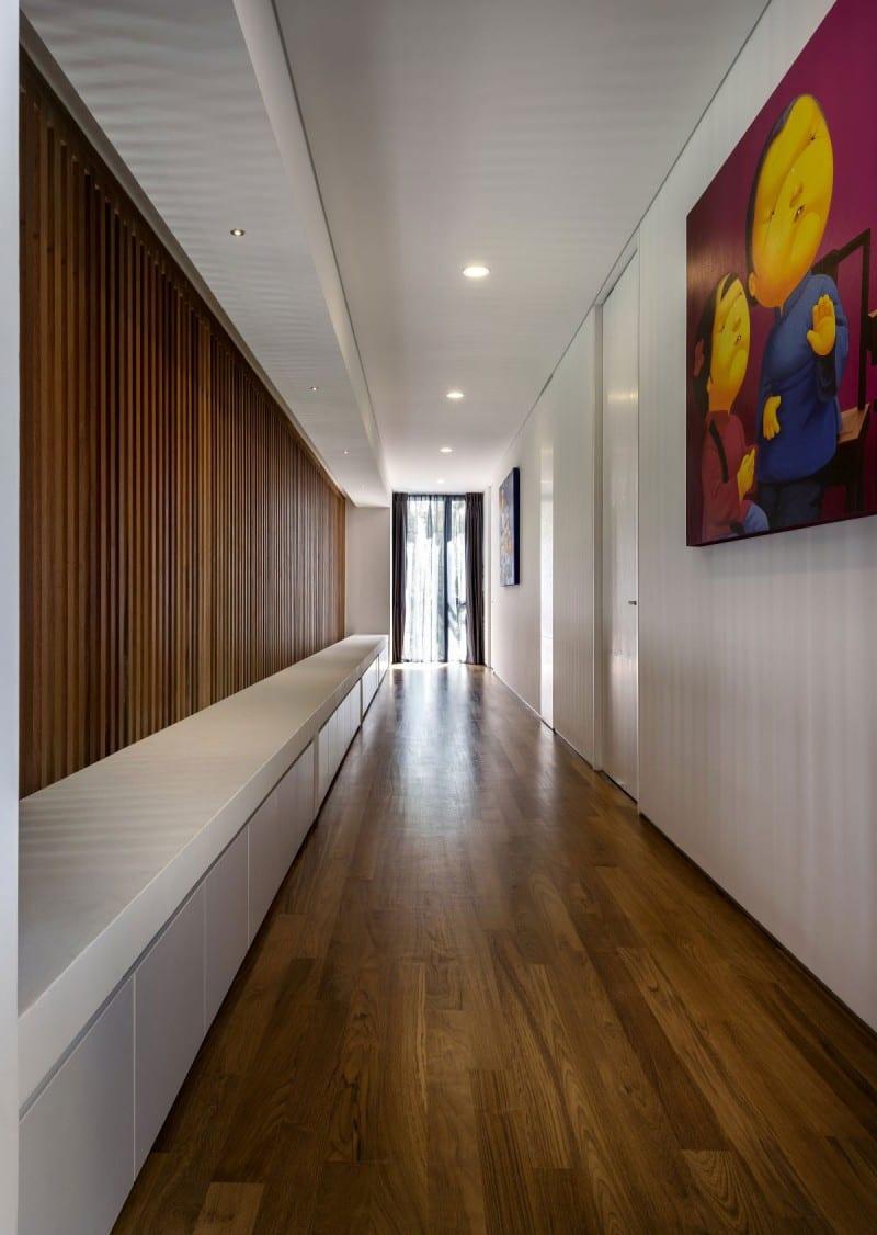 Wohnidee Flur modernes interior in holz und weiß als wohnidee flur residenz 6