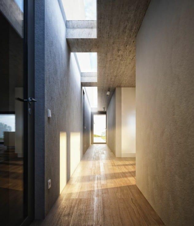 Wohnideen Beton wohnideen für minimalistisch wohnen und für moderne flurgestaltung